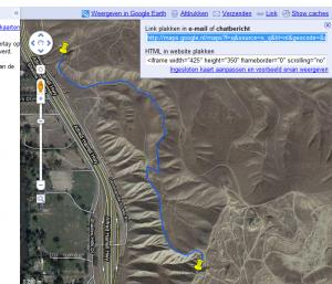 Google Maps route op je website