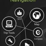 Outdoor-Navigation Navigation Screen