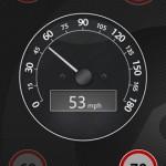 Outdoor-Navigation Speedometer