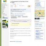 GeoBucket Geocaching App Cache Listing View