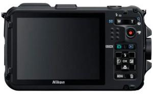 Nikon Coolpix AW100 Camera met GPS back