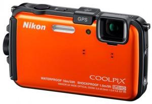 Nikon Coolpix AW100 Camera met GPS orange