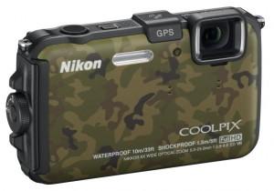 Nikon Coolpix AW100 GPS Camera
