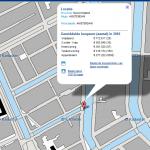 Kadaster informatie online in Google Maps