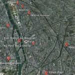 Google Earth 7 voor iOS Satelliet