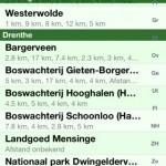 Wandelen voor iOS Overzicht