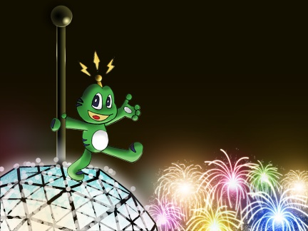 Signal Happy New Year
