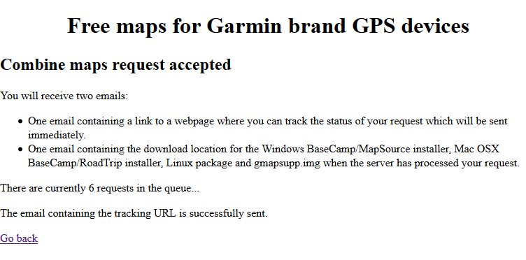 Garmin OpenStreetMap Queue