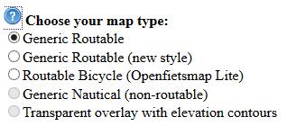 Garmin OpenStreetMap Type