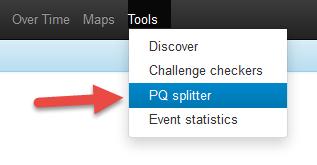 Pocket Queries met Project-GC 5.PQ Splitter