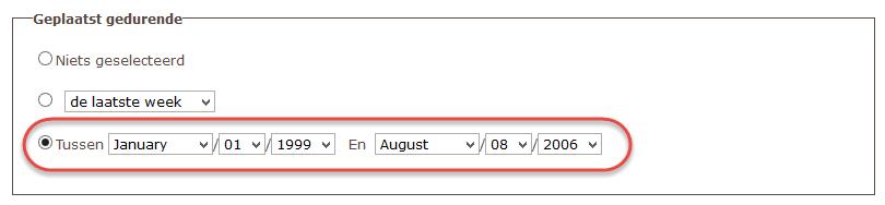 Pocket Queries met Project-GC 7.Pocket Query Generator datum