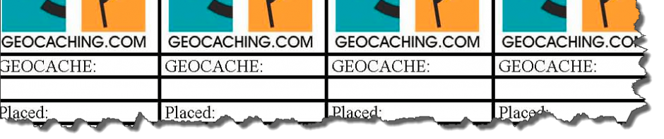 5 websites om je eigen geocaching logrol te maken