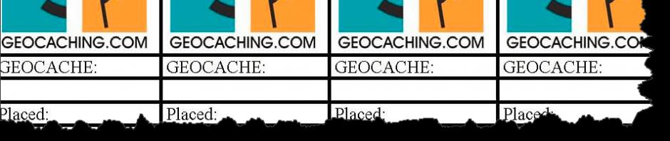 5 websites om je eigen geocaching logrol te maken