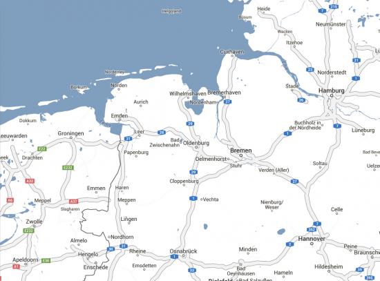 Google Maps Vakantieboek Kleur Routekaart